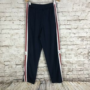 VTG Nike Track Pants Size M Blue Striped  Warm Up